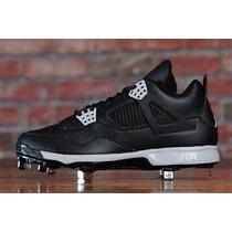 Spike Para Beisbol Nike Air Jordan 4 Retro Talla 7 Mex