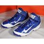 Excelentes Spikes Beisbol Nike Huarache Camo Pro Mid Azul