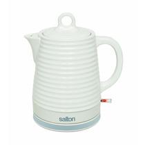 Tetera Electrica Salton Jk1513 S/cable Ceramica 1.2 Ltrs B
