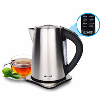 Tetera Electrica Aicok 1.7 Ltrs. Tem Var. S/cable Acero Inox