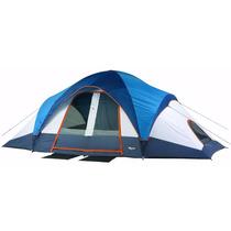Casa De Campaña Tienda Mountain Trails 10 Personas Acampar