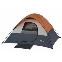 Casa De Campaña Tienda Mountain Trails 3-4 Personas Acampar