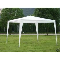 Carpa O Toldo Blanco 3 X 3 M. Para Fiestas Jardin Campismo
