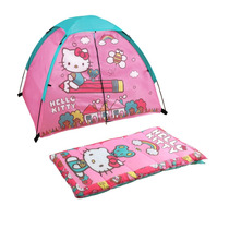 Hello Kitty Casita Kit Bolsa Para Dormir Campar