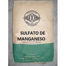 Sulfato De Manganeso Mn 1kg Fertilizante Soluble Polvo