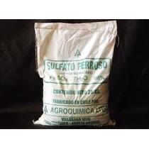 Sulfato Ferroso Pentahidratado 25kg Fertilizante Agricola