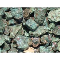 1 Kg De Cantera Verde Para Decoracion Codigo 1722 $27 Pesos