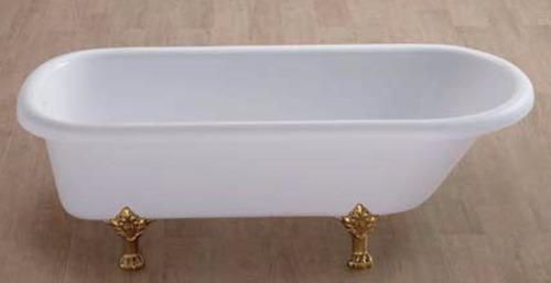 Baño De Tina O Artesa:Tina De Baño Antigua (marfil, Salida De Tina Al Piso) – $ 34,70600