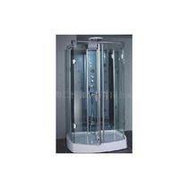 Maa Cabina De Regadera C/hidromasaje, Base Y Cristal De 6mm