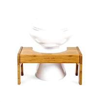 Squatty Para Ir Al Baño Tao Bamboo Soporte De Retrete Ajusta