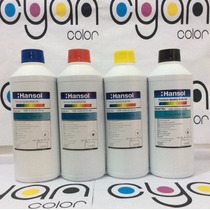 1l Tinta Dye Marca Hansol Para Sistemas De Tinta Continua