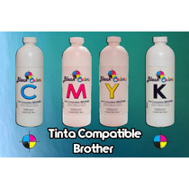 Tinta Base Agua Compatible Brother 500 Ml