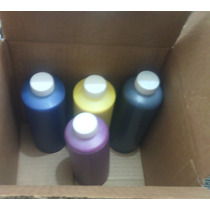 4 Botellas De 1/4 De Litro De Tinta Pigmentada Para Hp