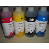Kit 4 Tintas 250ml Pigmentada Hp Inktec Hp940 950 932 970 88