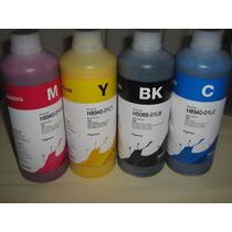 Litro De Tinta Inktec Pigmentada Hp 7110 8100 8600 8620 7612