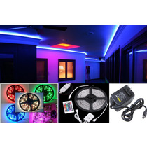 Rollo Tira 300 Led 16 Colores, 5050, 5mt ¡kit Completo! Omm