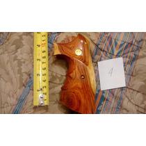 Cachas Para Revolver Smith & Wesson En Madera Posible Cambio