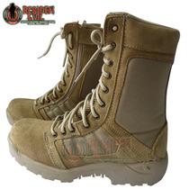 Bota Tipo Swat Kaki Táctica Ligera Para Comando Militar Ndd
