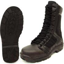 Botas Militares Tipo Swat Negra Táctica Ligera Comando