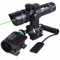 Mira Laser Profesional Punto Verde De Lo Mejor (pila Extra)