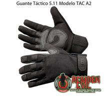 Guantes Tácticos 5.11 Modelo Tac A2 Negro Para Paintball Daa