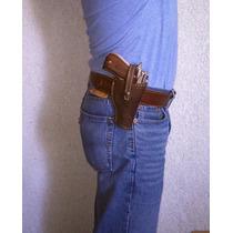Funda De Cuero Para Pistola Escuadra 9mm Beretta. Taurus