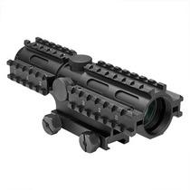 Mira 2-7x30 P4 Sniper Tres Rieles Caceria Gotcha Xtreme