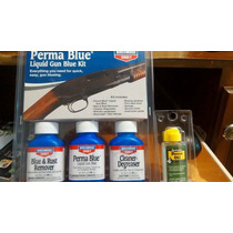 Kit Pavon En Frio Perma Blue Aceite De Regalo Pistolas Caza