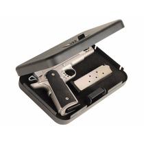 Estuche Para Pistola Metalico De Combinacion