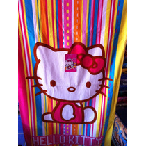 Toalla Hello Kitty Y Kitty Kiss Varios Modelos