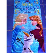 Toalla Frozen Original Varios Modelos 100% Algodón