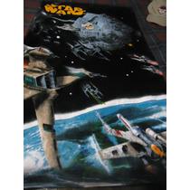 Toalla Star Wars Con Imagen Estrella De La Muerte