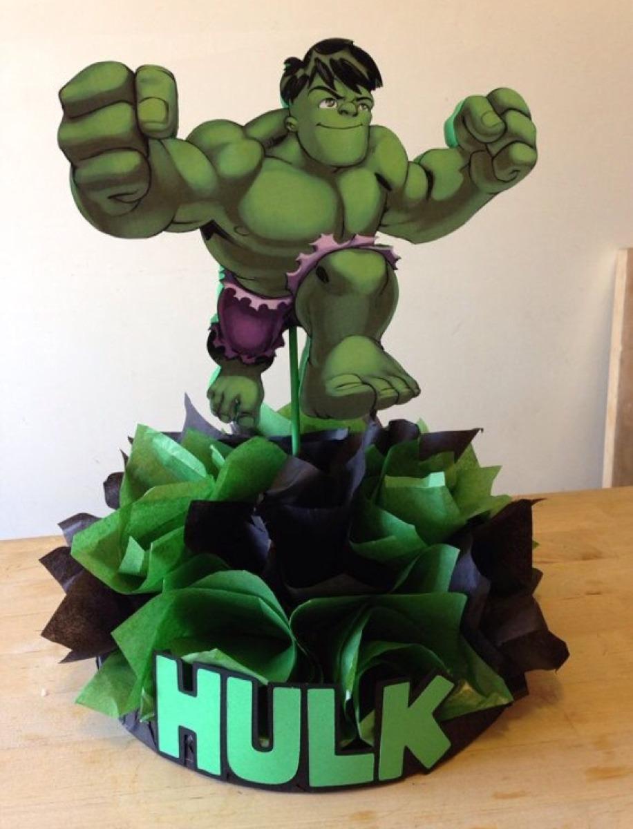 Todo Para Fiesta De Superhéroes Batman Spiderman Hulk Thor - $ 11,000