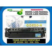 Toner Nuevo Compatible Hp Cc530, 531, 532 Envio Gratis
