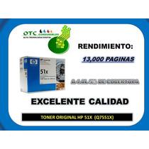 Toner Original Hp 51x Q7551x