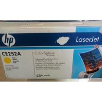 Toner Hp Ce252a Impresora Hp Color Laserjet Cp3525 Cp3530