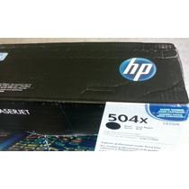 Toner Hp 504x Ce250x Impresoras Color Laserjet Cp3525 Cm3530