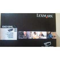 Toner Lexmark 64018hl Original Para T640 T642 T644