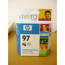 Cartucho De Tinta Hp 97 Vivera Tricolor, 14 Ml (c9363wl)