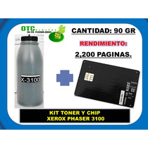Kit Toner Y Chip Xerox Phaser 3100