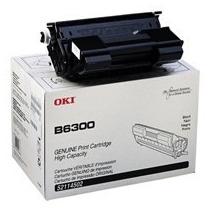 Toner Oki Negro Alto Rendimiento Para B6300 B6200