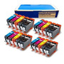 Inkjetcorner 20 Paquete Cartuchos De Tinta Compatibles Para