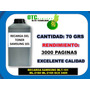 Recarga Samsung Mlt-101 Ml-2160 Ml-2165 Scx 3405. 70grs Fdp