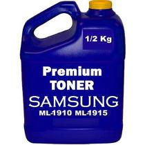 1/2 Kg Toner Samsung Ml-1910 Ml-1915 V77 Y V82 Reset Gratis