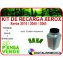 Kit De Recarga Toner + Chip Xerox 3010 3040 3045