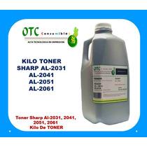 Toner Sharp Al-2031, 2041, 2051, 2061 Kilo De Toner