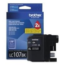 Tinta Brother Super Alto Rendimiento Negro Lc107bk