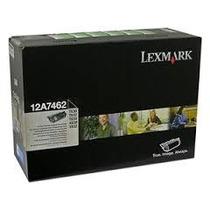 Cartucho Original Lexmark 12a7462 T630 632 634 Alto Remate