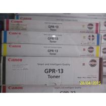Toner Gpr13 Original Canon Irc 3100 , Irc 3170 Los 4 Colores