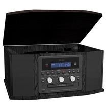 Teac - Gf-550 Discos/cd/tornamesas - Negro
